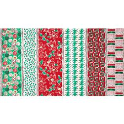 Joyful Holiday Traditional Fabric
