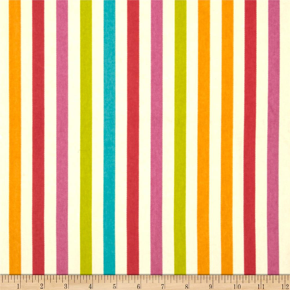 Waverly Line Up Stripe Twill Sorbet