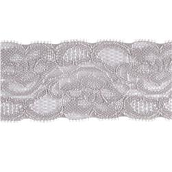 Riley Blake 2'' Elastic Lace Grey