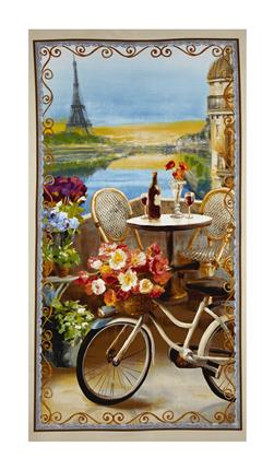 "Le Cafe Large 23.5"" Panel Multi"
