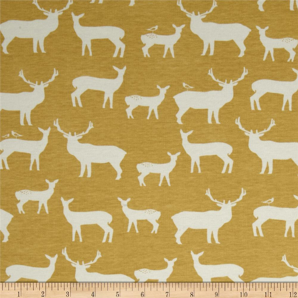 Birch Organic Interlock Knit Elk Grove Elk Family
