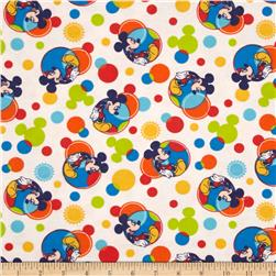 Disney Mickey Spectrum Flannel Multi