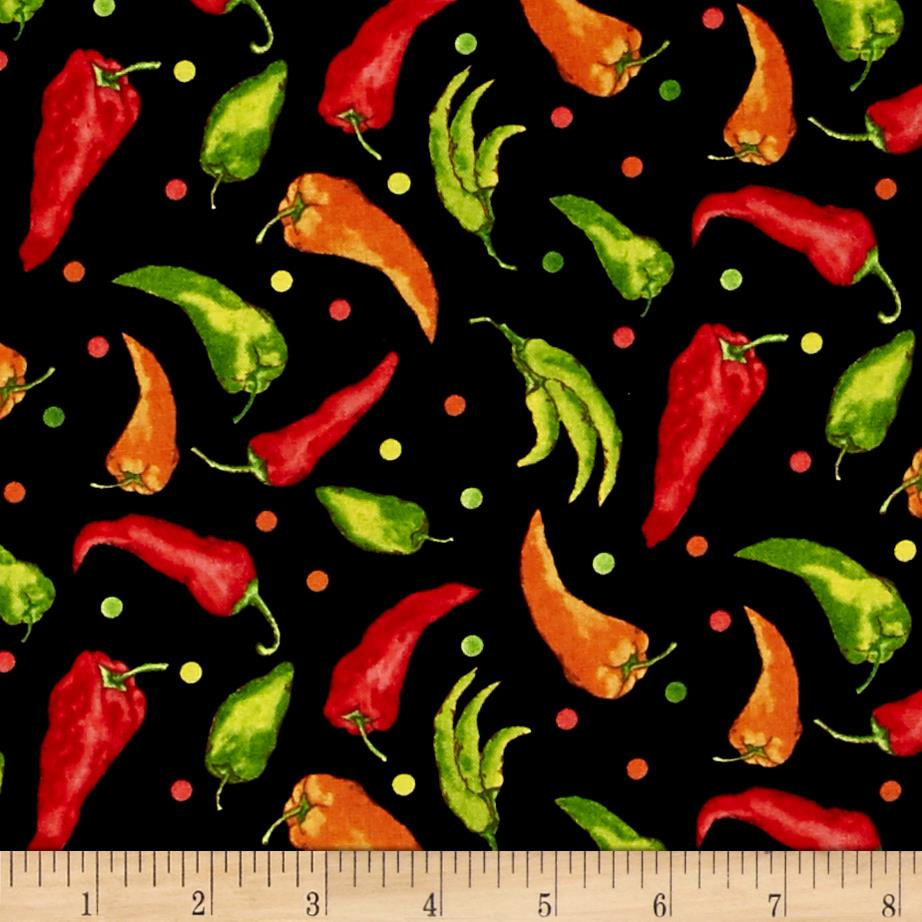 Caliente Peppers Allover