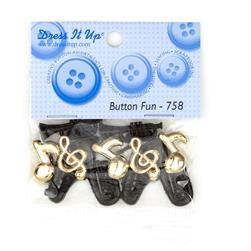 Dress It Up Embellisment Buttons  Button Fun