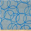Color Matters Large Circles Grey/Blue