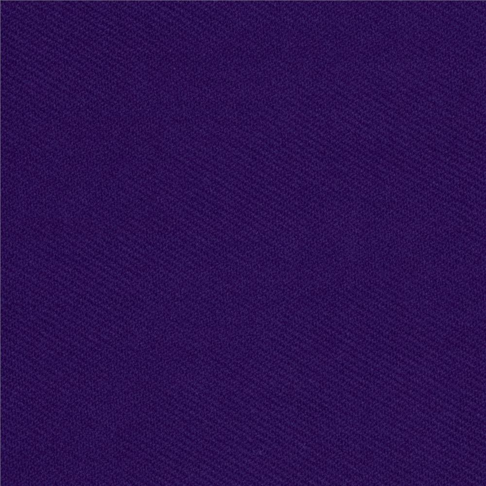 Ribbed Double Knit Violet