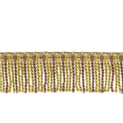 "Fabricut 2.5"" Porch Swing Bullion Fringe Lavender Twist"