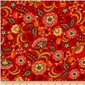 Peaceful Gathering Floral Red