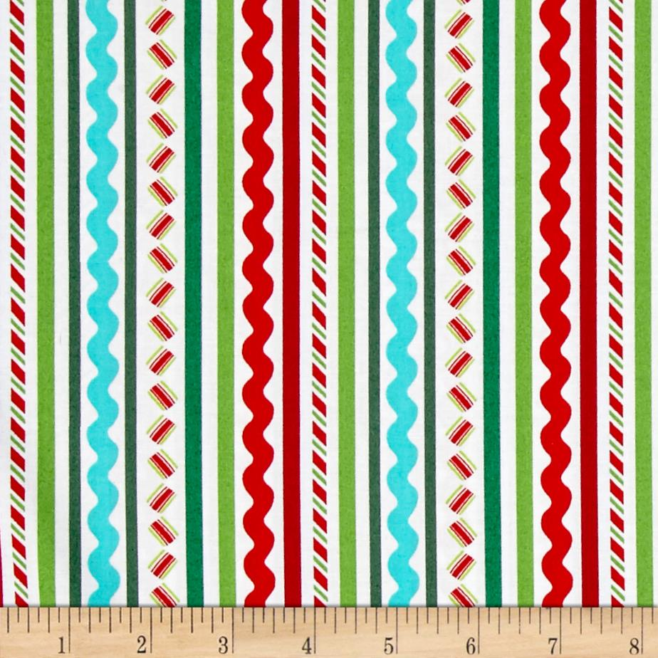 Dear Santa Stripe Multi