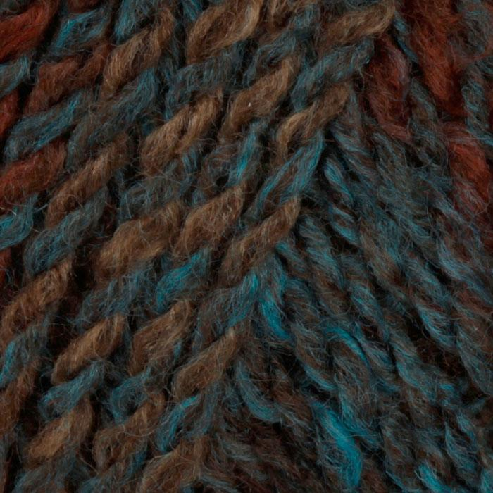 Lion Brand Tweed Stripes Yarn (206) Woodlands