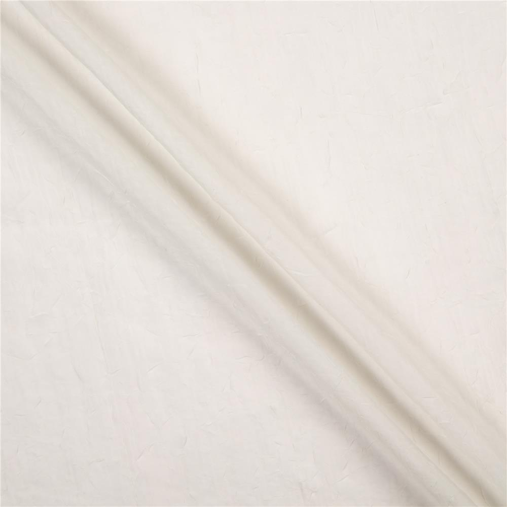 "108"" Crushed Sheer Voile Ivory"