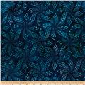 Artisan Batiks Color Source 4 Ribbon Star Dot Indigo