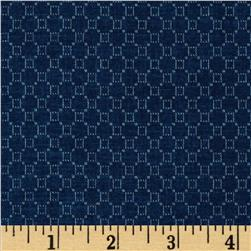Jeanne Horton The Settlement Collection Honeycomb Blue