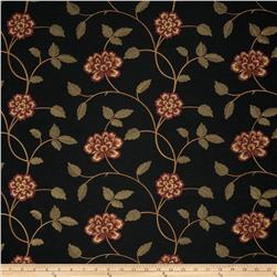 Trend 02730 Embroidered Taffeta Garnet