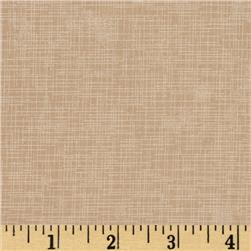 Quilter's Linen Print Sand
