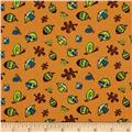 Frolicking Forest Forest Floor Orange