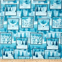 Winter Frost Patchwork Blue