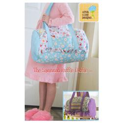 April Cobb Savannah Ruffle Duffle Bag Pattern