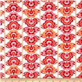 Sundborn Garden Medallion Stripe Red/Pink