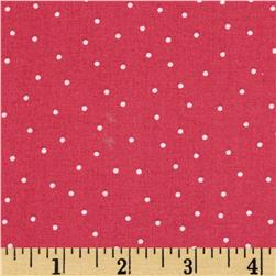 Kimberbell's Merry & Bright Pin Dots Pink