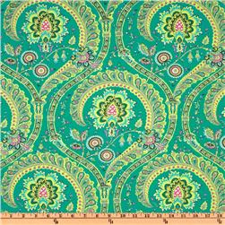 Amy Butler Home Decor Lark Feather Paisley Jade