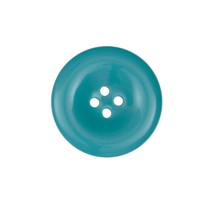 Fashion Button 1 3/8'' Salem Turquoise