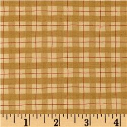 Moda Delightful December Plaid Eggnog