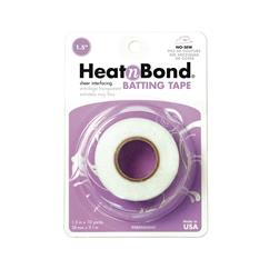 "Heat'n Bond Batting Tape Fusible White 1.5"" x 10 Yards"