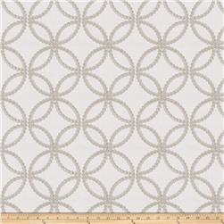 Fabricut  Embroidered Reconciliation Grey