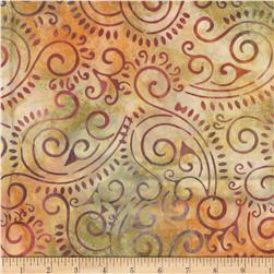 Wilmington Batiks Scroll Brick
