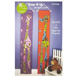Olive Ann Designs Grow-N-Up Growth Chart Pattern