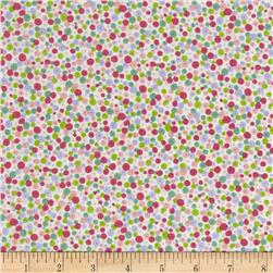 Enchanted Fairy Dust Pink Fabric