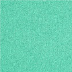 Solid Flannel Light Mint Fabric
