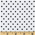 Pimatex Basics Mini Dot White/Black
