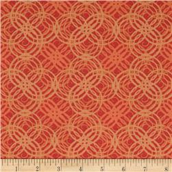 Hot Topic Concentric Tonal Circle Orange