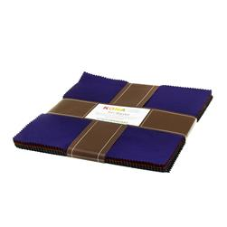 Kona Cotton Dark Ten Squares
