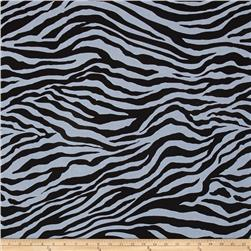 Michael Miller Show Your Skin Zebra Stripe Grey