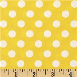 Googlies Big Dot Yellow Fabric