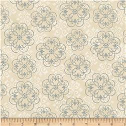 Neutral Nature Damask Tan