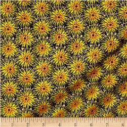 Kanvas Natural Beauty Metallic Thistle Dot Black/Moss