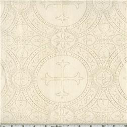 Clergy Brocade Ivory