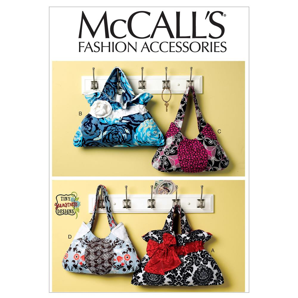 McCall's Bags Pattern M6578 Size OSZ