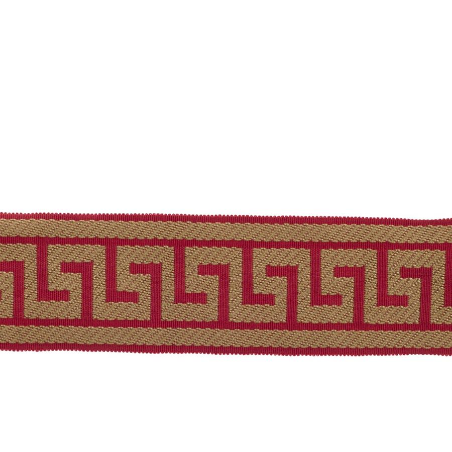 "Fabricut 2.625"" Athens Key Trim Raspberry"