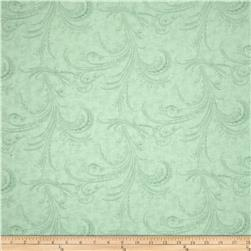 Moda Under the Mistletoe 108 In. Quilt Back Etched Scrolls Frost