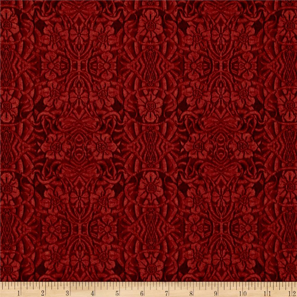 Longfellow tooled leather old red discount designer for Fabric cloth material
