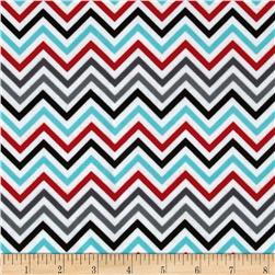Remix Flannel Chevron Adventure Fabric