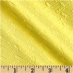 Double Knit Jacquard Pollen