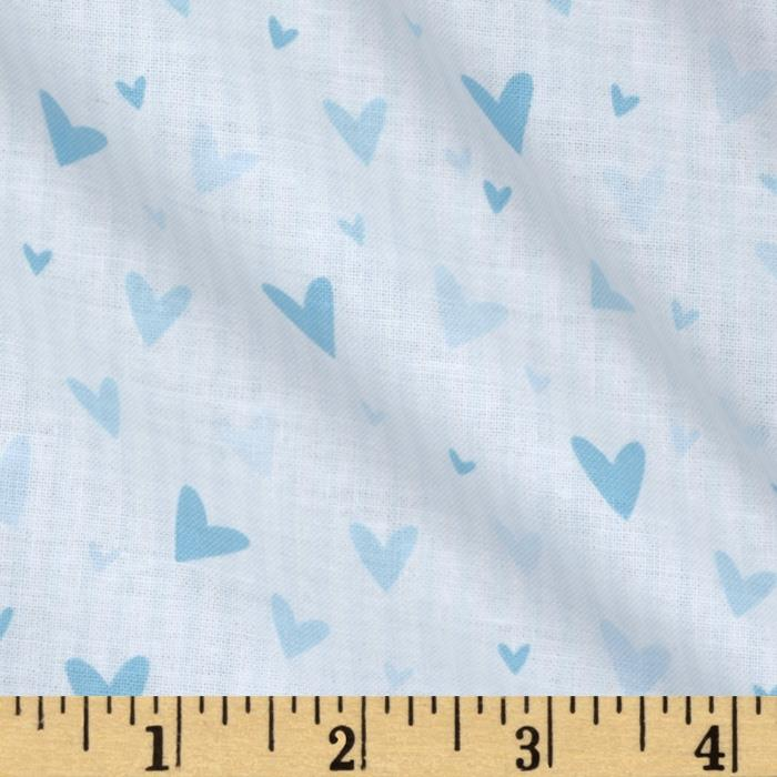 Tutu Cute Hearts Stripe White/Blue