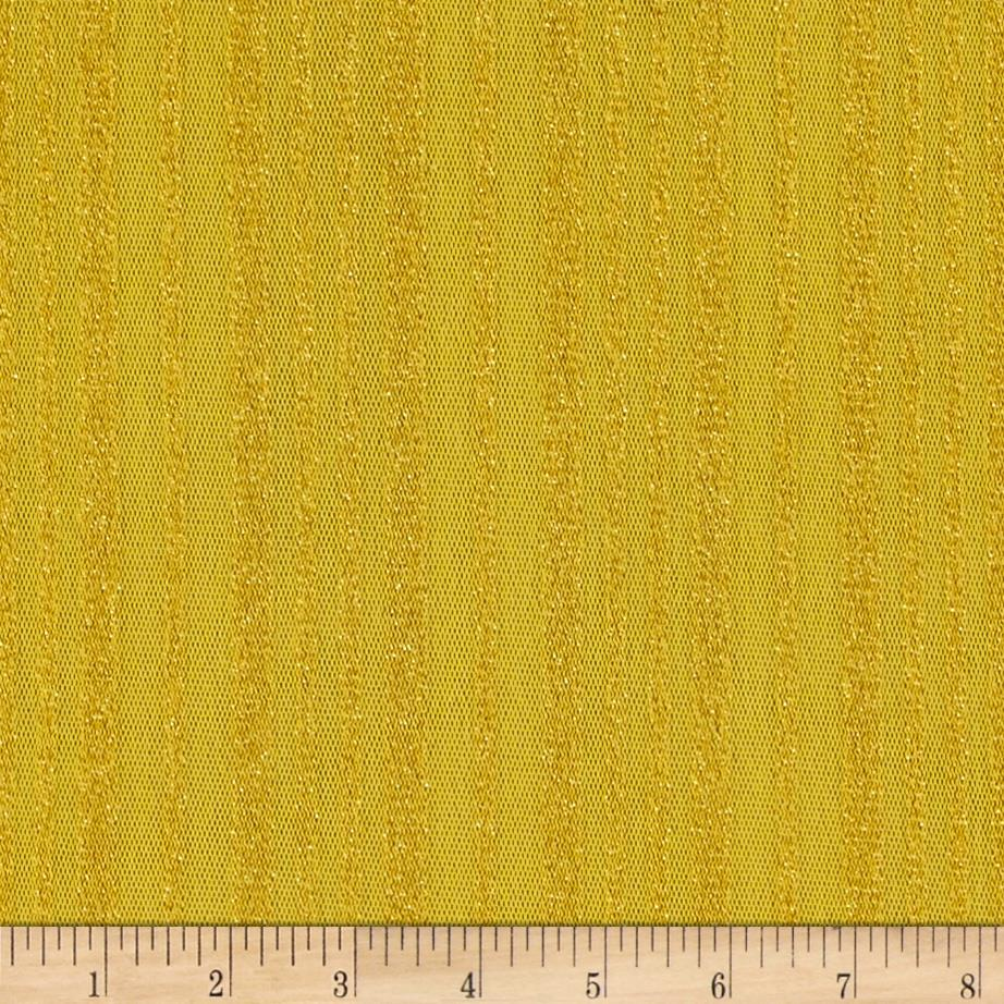 Nylon Mesh Tonal Stripe Yellow/Gold