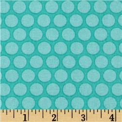 Tone on Tone Dots Turquoise
